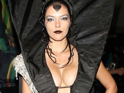 Adrianne Curry in a hot outfit