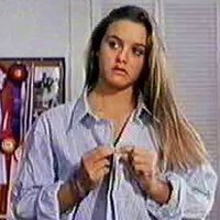Alicia Silverstone takes off her clothes playing in 'The Crush'