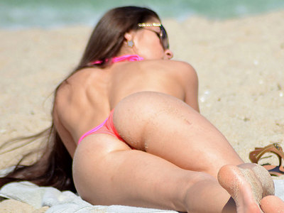 Anais Zanotti Bikini Body Perfection In Pink And Hot On Miami Beach