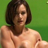 Alluring melons of Carla Gugino on the pics.