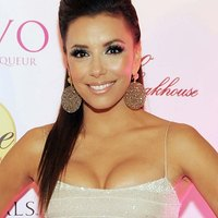 Eva Longoria appears in lovely dress