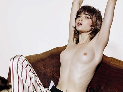 Grace Hartzel topless and nude