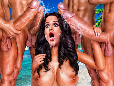 Katy Perry in Celebs Dungeon