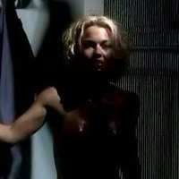 Kelly Carlson shows her nude boobs in Starship Troopers 2