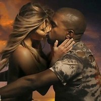 Horny half naked Kim Kardashian seduces her black boy!
