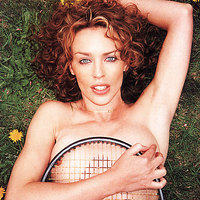 Kinky photos with famous musician Kylie Minogue
