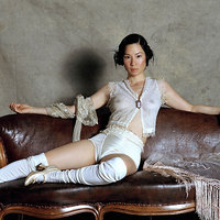 Lucy Liu see-through shots