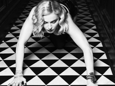 Madonna Sexy black and white nudes