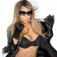 Mariah Carey Sexy Lingerie For Terry Richardson