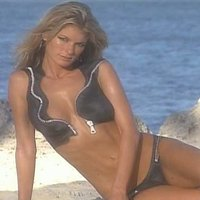 Marisa Miller posing for 'Sports Illustrated'