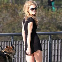 Annalynne Mccord Hot And Leggy On The Set