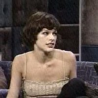 Milla Jovovich appearance in sexy outfits on TV