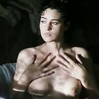 Monica Bellucci sex and boobs scene from 'Briganti'