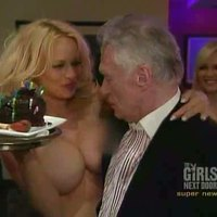 Stunning Pamela Anderson participating 'Playboy' show