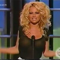 Pamela Anderson getting naughty girl on TV