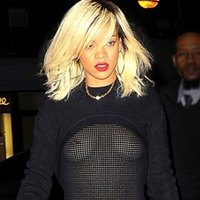 Careless Rihanna's wardrobe malfunction