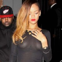 Rihanna See Through Dress Hotness
