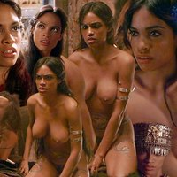 Kinky photo collection with Rosario Dawson