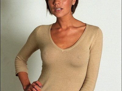 Victoria Beckham see-through shots
